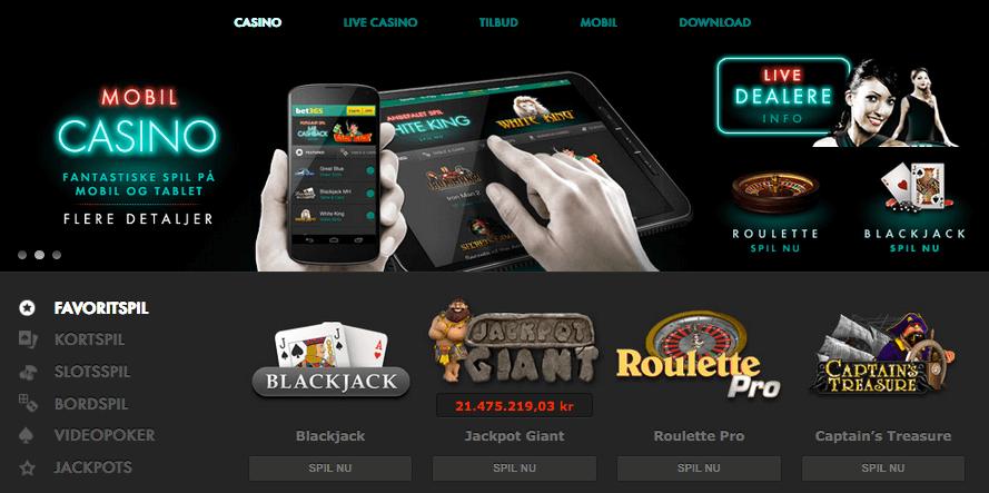 Casino hos bet365