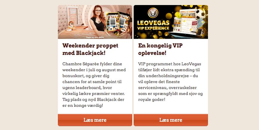 Leovegas kampagner