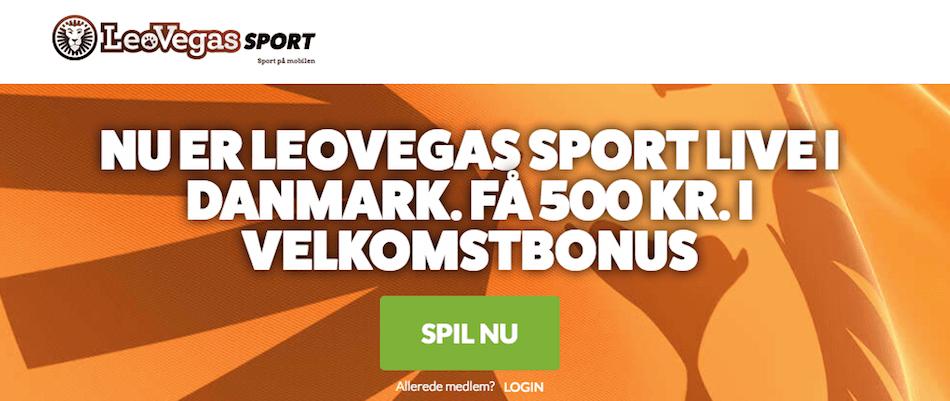 LeoVegas Sport bonus